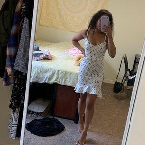 NWT BooHoo Polka Dot Dress